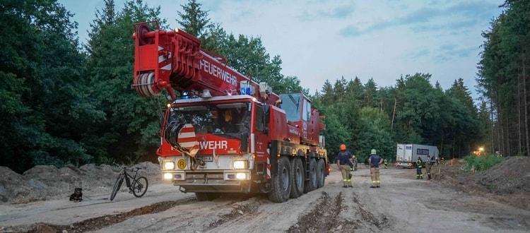 FF Ried - Kranfahrzeug - LKW